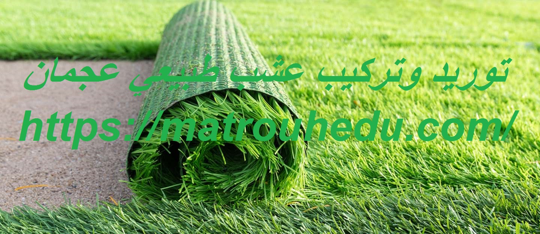 توريد وتركيب عشب طبيعي عجمان