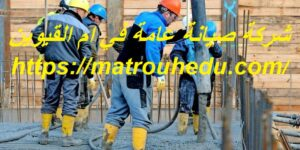 شركة صيانة عامة في ام القيوين